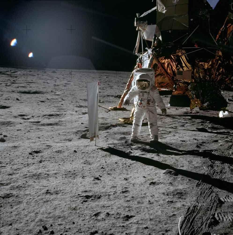 ASTRONAUT BUZZ ALDRIN APOLLO 11 MISSION © NASA