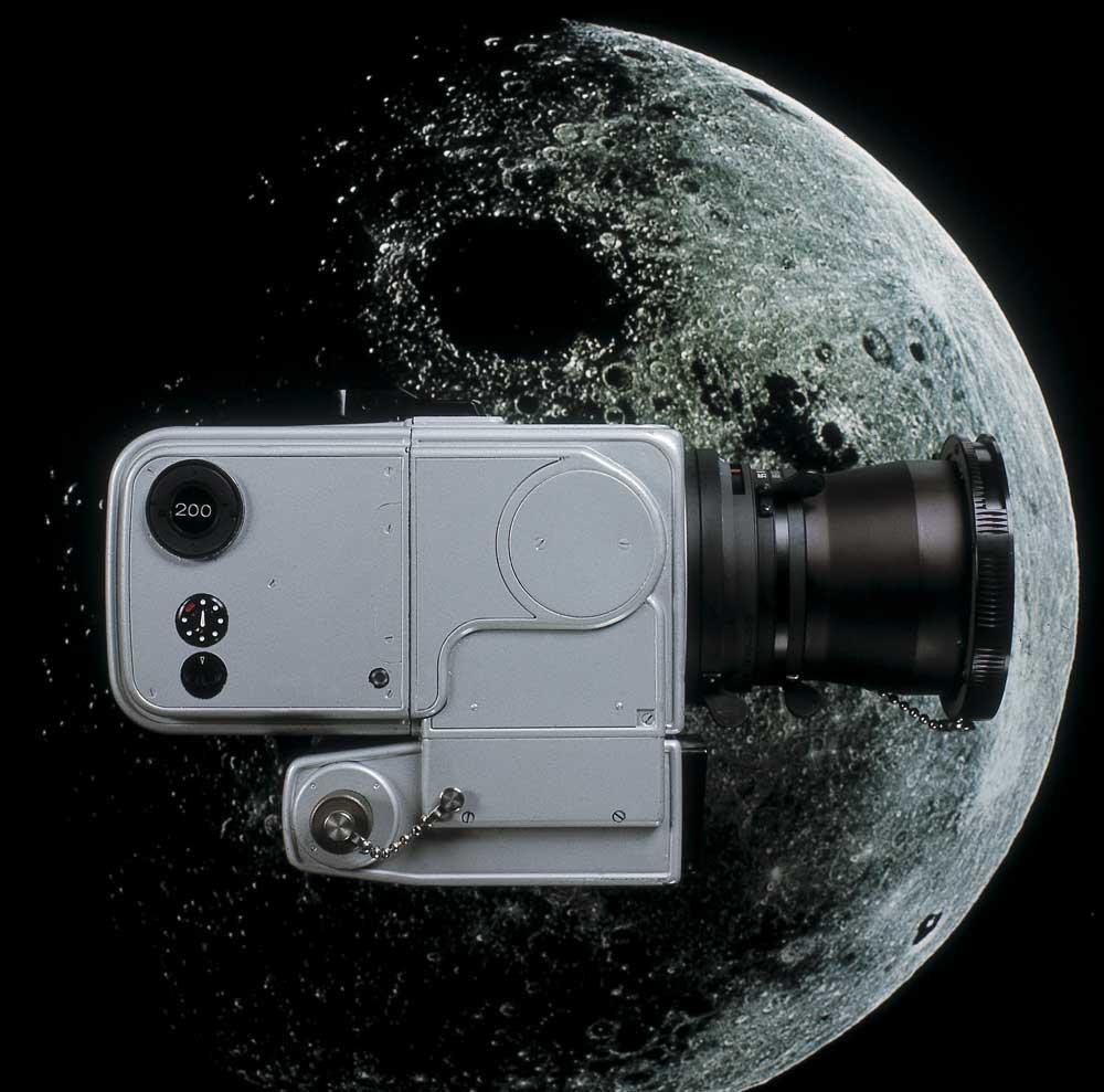 Hasselblad Data Camera utilizzata per le missioni Apollo8, 9, 10, 11