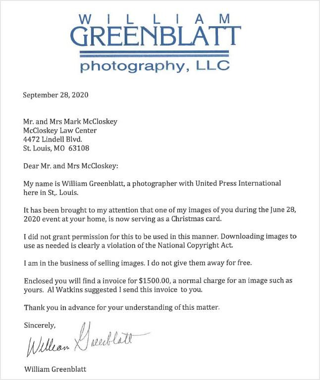 greenblatt-letter