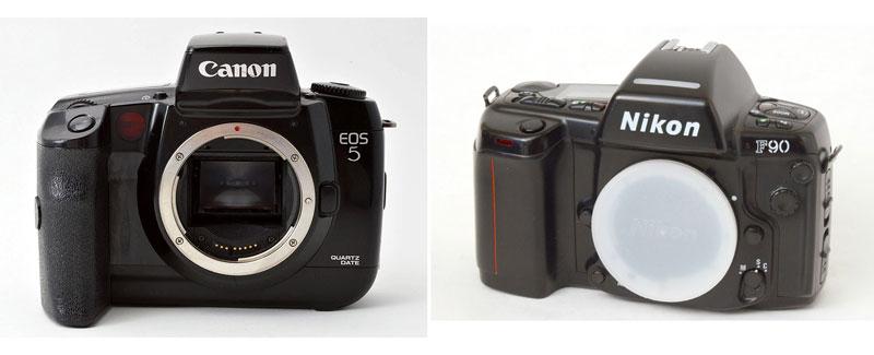 photokina-1992-canon-eos-5-nikon-f90