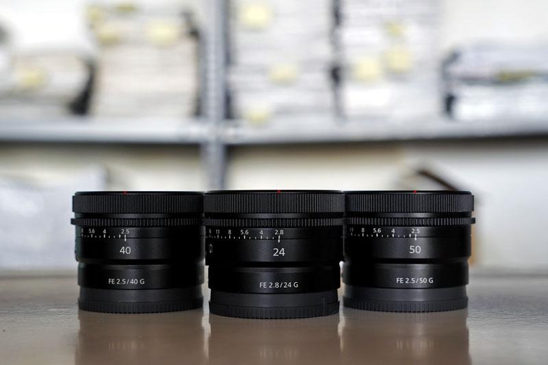 sony-lens-trio