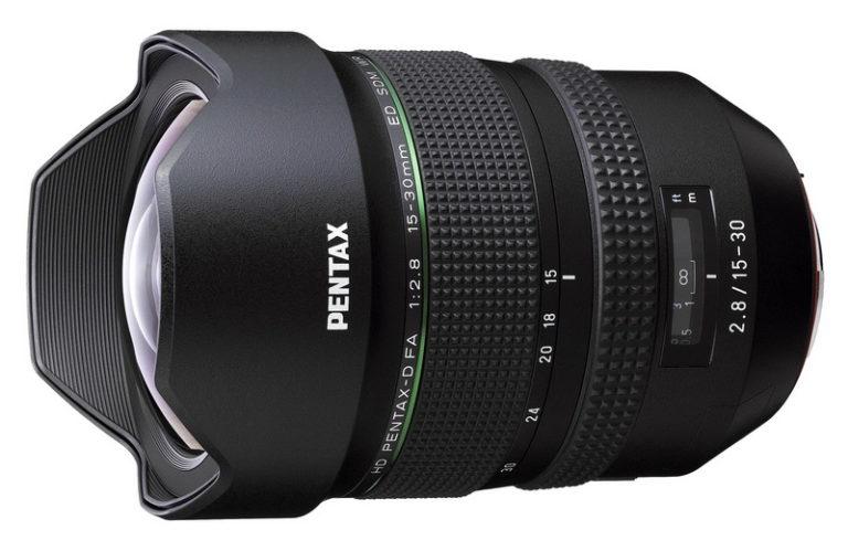 Pentax HD PENTAX-D FA 15-30mm F2.8 ED SDM WR
