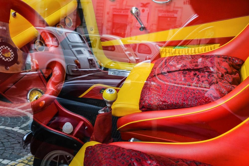 1◦ Premio Eccellenze Italiane Sarrocco Giovanni ( Sulmona AQ ) FIAT 500 CUBISTA
