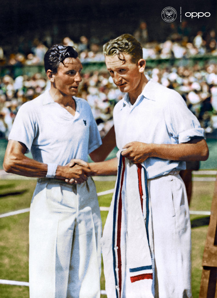 Fred Perry and Jack Crawford